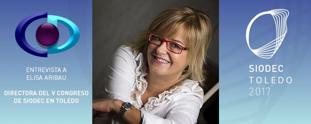 Entrevista a Elisa Aribau en la web de SIODEC