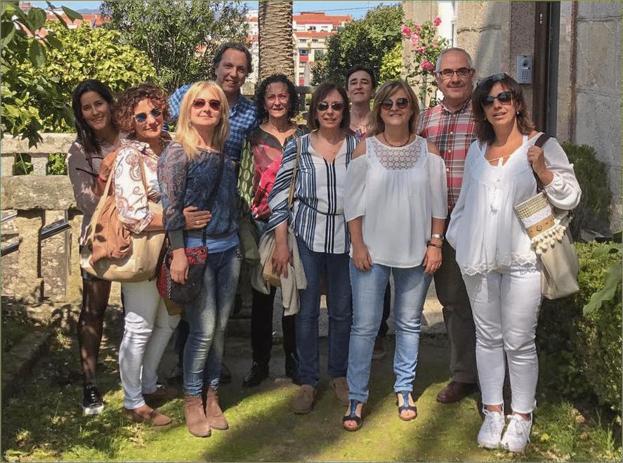 Formación con educadores de la ONCE en Pontevedra