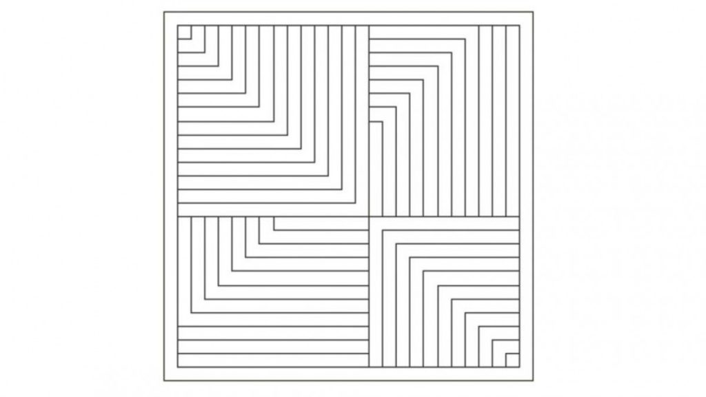 Reto visual. ¿Eres capaz de encontrar una cruz simétrica?