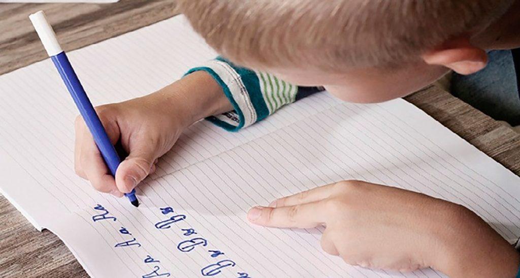 Habilidades visuales perceptivas para escribir a mano