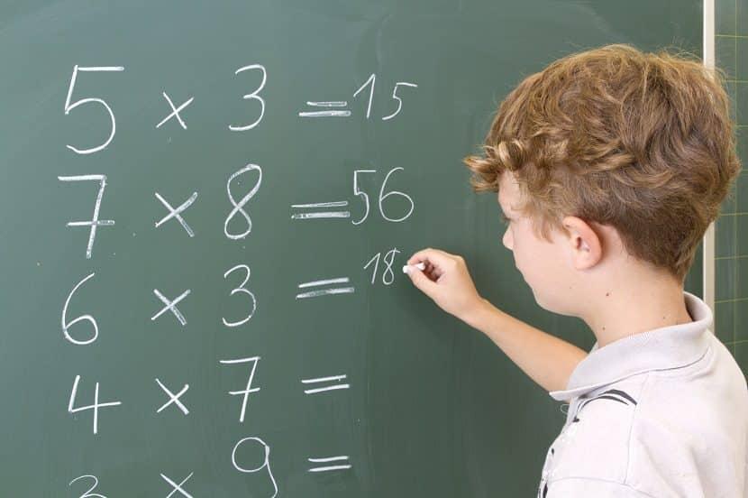 Truco para que los niños aprendan a multiplicar