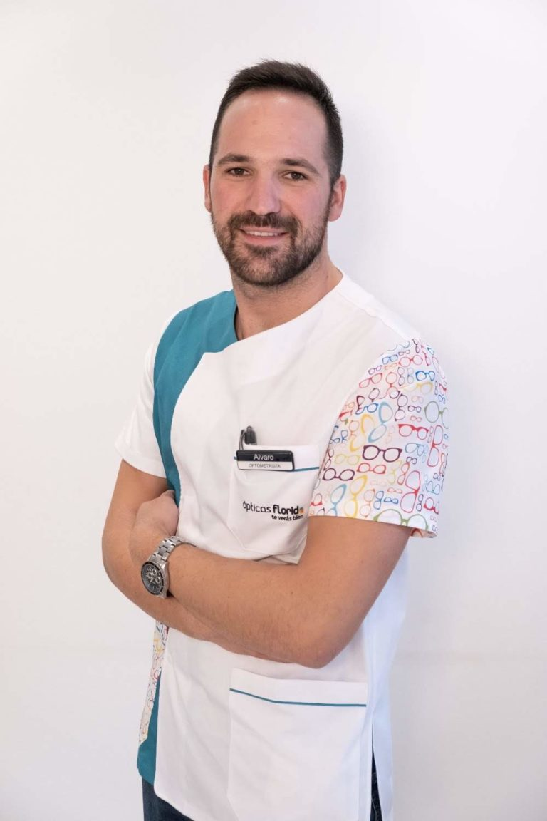 Álvaro García optometrista