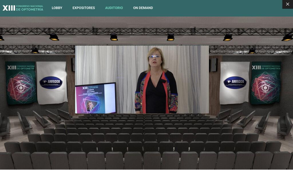 Ponencia virtual en el XIII Congreso de AMFECCO