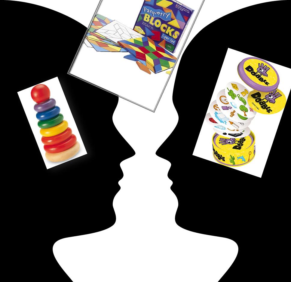 Jugar para aprender. Desarrollo de la percepción visual