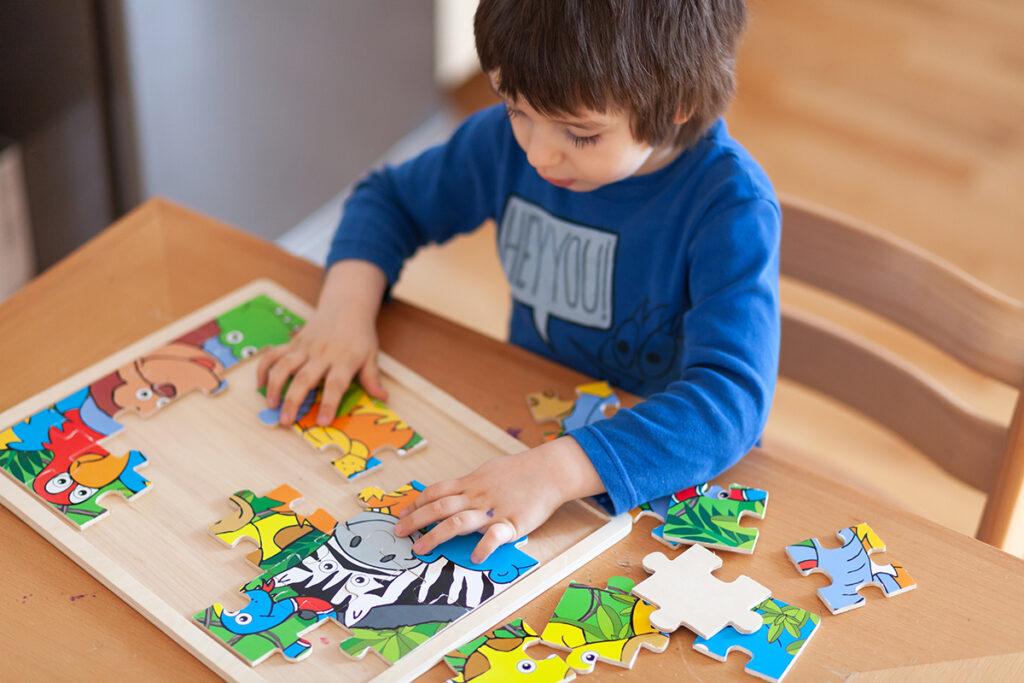 Adaptar los juegos al objetivo de mejorar las habilidades visuales